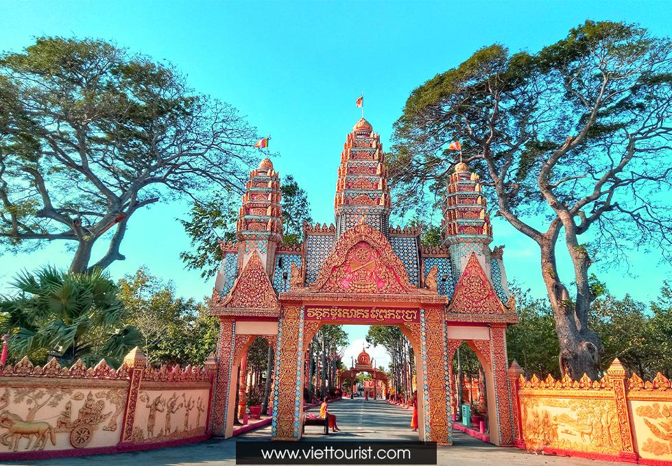 Chùa Xiêm Cán - Ngôi Chùa Khmer đẹp nhất Bạc Liêu
