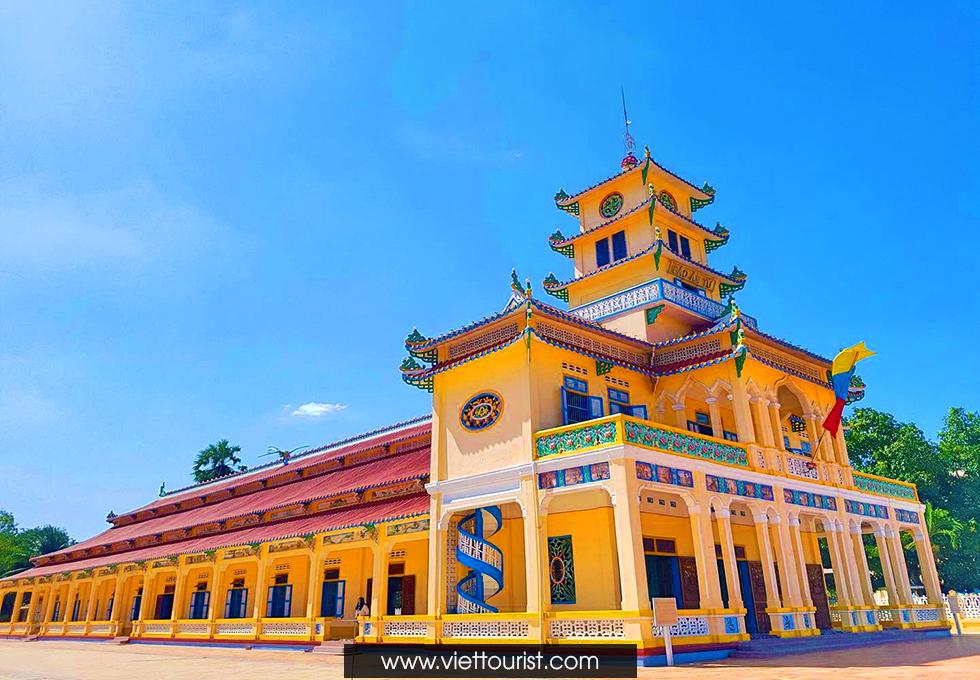 Về Tây Ninh nhớ ghé Hội Thánh Cao Đài Tòa Thánh Tây Ninh