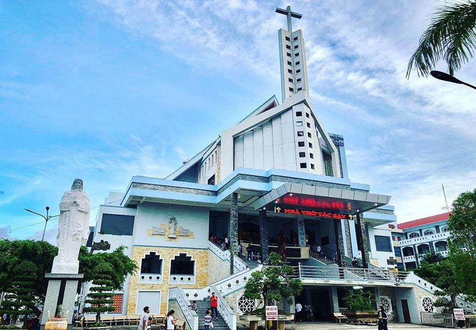 Giáo xứ Tắc Sậy - Điểm đến linh thiêng bậc nhất Bạc Liêu