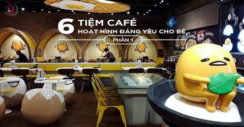 TIỆM CAFE ĐÁNG YÊU CHO GIA ĐÌNH TẠI SINGAPORE