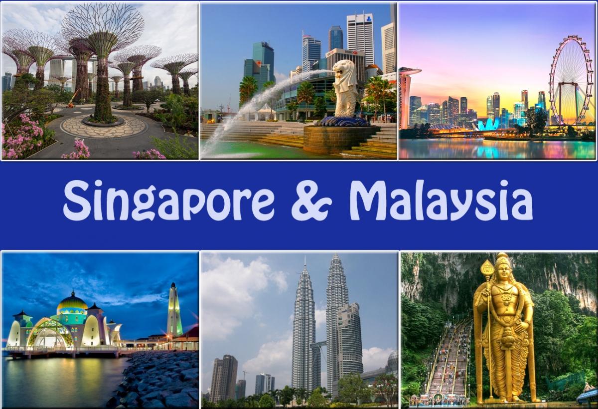 DU LỊCH 02 QUỐC GIA MALAYSIA + SINGAPORE