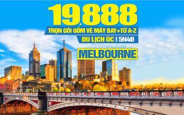 DU LỊCH ÚC - MELBOURNE 04 MÙA KH Đà Nẵng