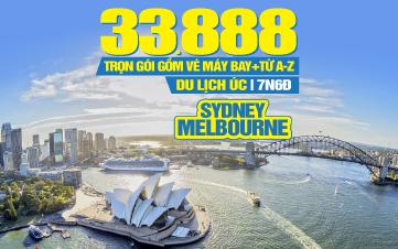 Du Lịch Úc Sydney – Melbourne 7N6Đ KH Đà Nẵng
