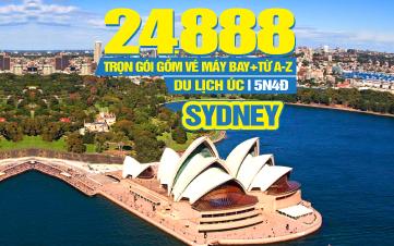 Du Lịch Úc Sydney - Thành phố biển Australia