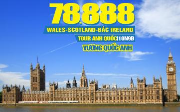 Tour Du Lịch Anh Quốc -  Wales | Scotland | Bắc Ireland | 10N9Đ