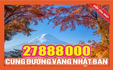 Du lịch Cung đường Vàng Nhật Bản OSAKA - KOBE - KYOTO - NÚI PHÚ SỸ - YAMANASHI - TOKYO/YOKOHAMA - NAGOYA - NARA 6N5Đ