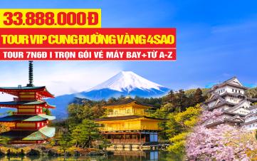 Tour du lịch Nhật Bản - Cung Đường Rực Sắc Hoa anh Đào Sakura | Tokyo | Osaka | Núi Phú Sĩ | 7N6Đ