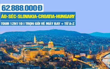 """Chương trình du lịch """"Giấc Mơ Đông Âu"""" khám phá 5 nước"""