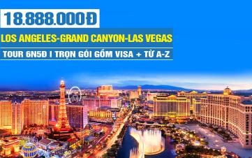 Tour Du lịch Bờ Tây Hoa Kỳ - Los Angeles | Grand Canyon | Hoover Dam |  Las Vegas | 6N5Đ