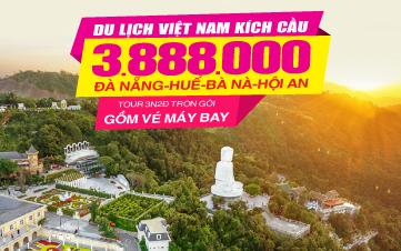 Tour Du lịch Đà Nẵng | Huế | Bà Nà Hills | Hội An 3N2Đ