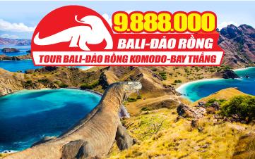 """Tour du lịch Bali - Rồng KOMODO huyền bí """"Hòn Đảo của các vị thần"""""""