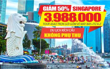Chương Trình Du lịch Singapore kích cầu