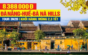 Tour du lịch trong nước Tết Nguyên Đán 2020 Đà Nẵng | Huế | Bà Nà Hills | Hội An 3N2Đ