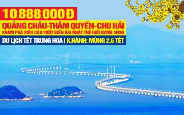 Du lịch Tết Quảng Châu