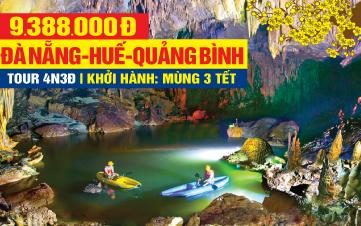 Tour du lịch trong nước Tết Nguyên Đán 2020 Đà Nẵng | Huế | Hội An | Lăng Cô | Phong Nha | Bà Nà Hill 4N3Đ