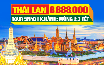 Du lịch Tết Thái Lan 5SAO từ Đà Nẵng - BangKok | Pattaya | Ayuthaya 5N4Đ