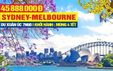 Du Lịch Úc Tết Nguyên Đán Sydney - Melbourne - Canberra 7N6Đ