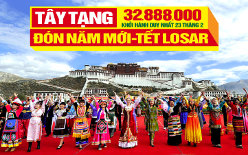 Du  lịch Tây Tạng - Đón Tết Losar Du Xuân Năm Mới Cùng Người Tây Tạng