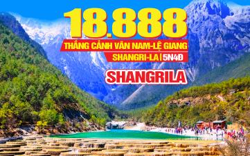 Tour du lịch Trung Quốc hè Trùng Khánh | LỆ GIANG | SHANGRILA |  Vân Nam | 7N6Đ