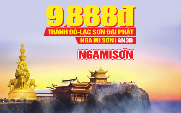 Tour du lịch Trung Quốc LỄ 2/9 | Thành Đô | Nga Mi Sơn | Lạc Sơn Đại Phật | Trùng khánh | 4N3Đ
