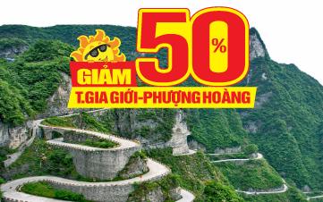 Tour du lịch Trung Quốc  | Trương gia giới | Phượng Hoàng Cổ trấn | trùng khánh | Vũ Hán | Kinh Châu | 6N6Đ