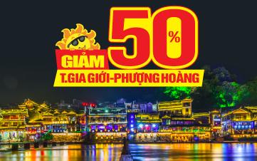 Tour du lịch Trung Quốc | Trương Gia Giới | Phượng Hoàng Cổ Trấn 5SAO Charter | 5N4Đ