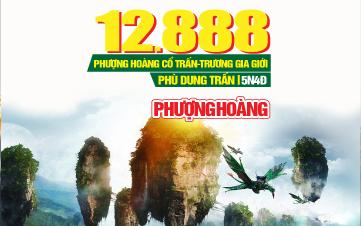 Tour du lịch Trung Quốc lễ 2/9 | Trương Gia Giới | Phượng Hoàng Cổ Trấn cao cấp | 5N4Đ
