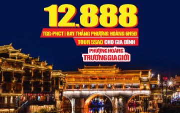 Tour du lịch Trung Quốc | Phượng Hoàng Cổ Trấn | Trương Gia Giới | 5SAO charter 6N5Đ
