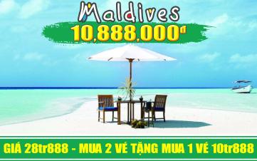 DU LỊCH MALDIVES 4N3D