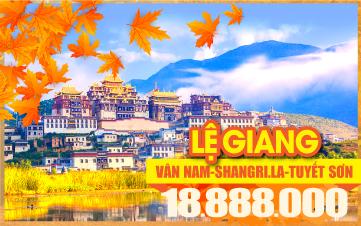 Tour du lịch mùa thu Lệ Giang | Tour du lịch mùa thu Shangrila | Tour du lịch mùa thu Trung Quốc