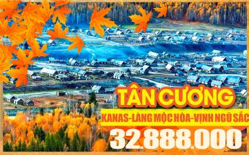 Tour du lịch mùa thu Trùng Khánh | Vịnh Ngũ Sắc | Trung Quốc | 7N6Đ