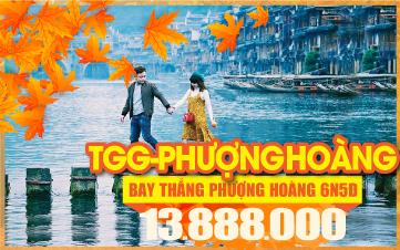 Tour du lịch mùa thu Trương Gia Giới - Phượng Hoàng Cổ Trấn | Tour du lịch mùa thu Trung quốc  6N5Đ bay Thẳng CZ/VJ