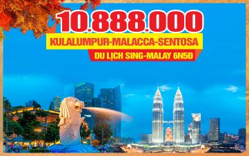 Tour du lịch mùa thu Singapore - Malaysia 5sao 6N5Đ