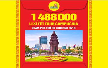 Tour du lịch Campuchia Xà Xía 3N2Đ