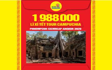 DU LỊCH CAMPUCHIA | PhnomPenh | Siemreap | Angkor |3N2Đ