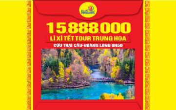 Du lịch Cửu trại câu tuyệt sắc nhân gian - Thắng cảnh Hoàng Long - Thành Đô - Trùng Khánh - Trung Quốc 6N5Đ