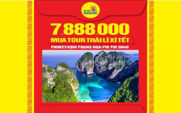DU LỊCH THÁI LAN | thiên đường Phuket | đảo Phi Phi | vịnh Phang Nga |4N3Đ