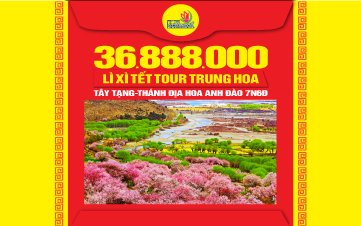 Tour du lịch Tây Tạng - Thánh Địa Hoa Anh Đào 7N6Đ
