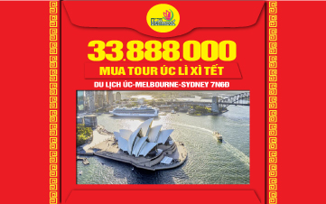 Du Lịch Úc Sydney – Melbourne - Canberra 7N6Đ