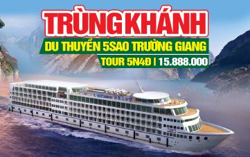 Tour du thuyền trên sông Trường Giang | Tour du lịch Trung Quốc 5N4Đ