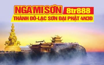 Tour du lịch Trung Quốc | Thành Đô | Nga Mi Sơn | Lạc Sơn Đại Phật | Trùng khánh | 4N3Đ