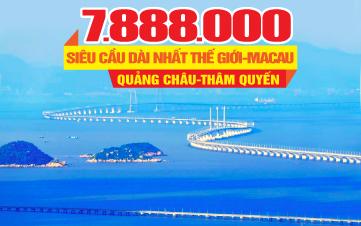 Tour du lịch Hong Kong | Chu Hải | Quảng Châu | Thẩm Quyến 4N3Đ