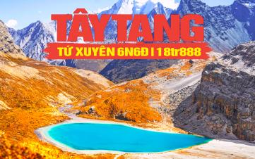 Tour du lịch Tây Tạng | Tour du lịch Á Đinh - Đạo Thành | Tour du lịch Trung Quốc 6N6Đ