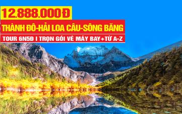 Tour du lịch Hải Loa Câu - Thành Đô - Nga Mi Sơn - Lạc Sơn Đại Phật | du lịch Tứ xuyên - Trung Quốc 6N6Đ