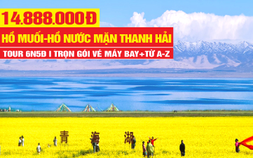 Tour du lịch Thanh Hải - Thắng cảnh Tây Tạng cao nguyên Thanh Hải | Trung Quốc