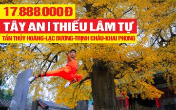 Tour du lịch Tây An - Thiếu Lâm Tự - Khai Phong liên tuyến Trùng Khánh - 6N5Đ