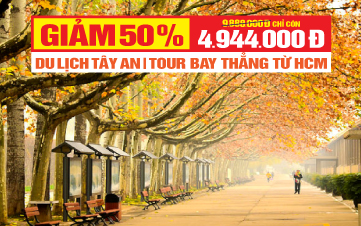 Tour du lịch Tây An -  Khám phá Lăng Mộ Tần Thủy Hoàng - Trung Quốc 3N2Đ