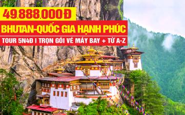 Tour du lịch Bhutan | Punakha | Thủ đô Thimphu  - Quốc Gia Hạnh Phúc 5N4D