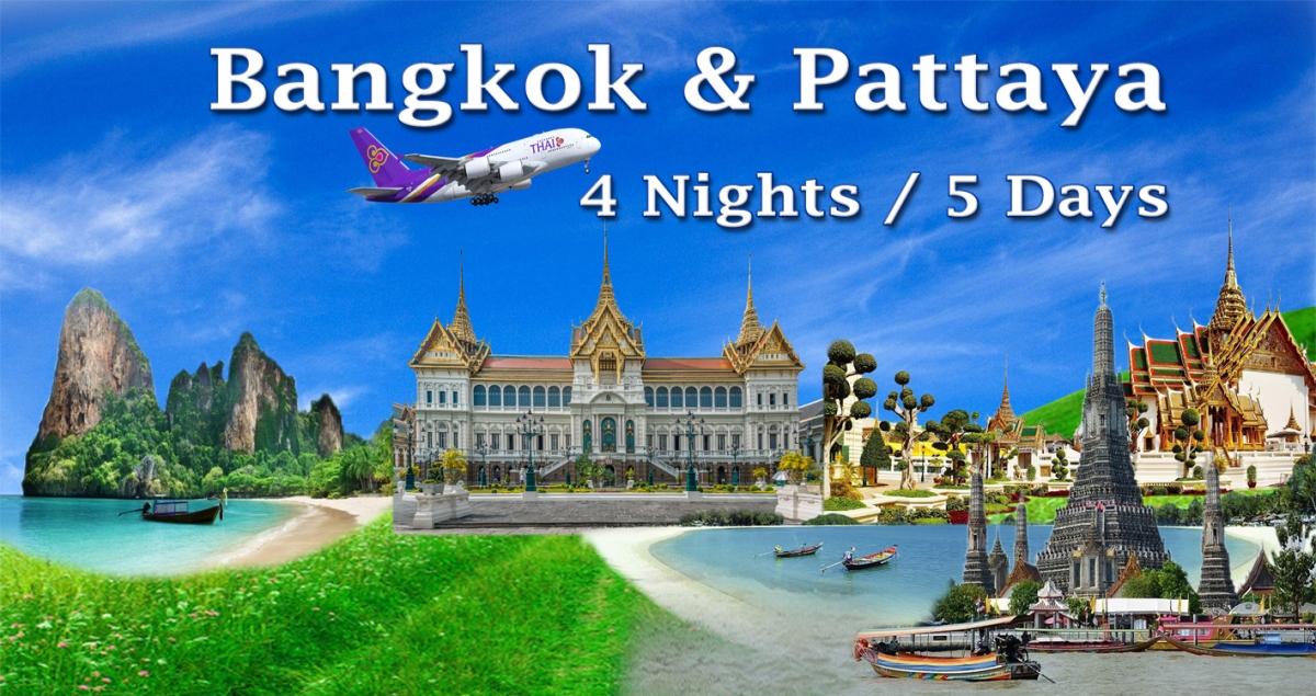 DU LỊCH THAILAN BANGKOK + PATTAYA - KHÁCH ĐOÀN