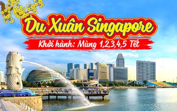 Du Lịch Singapore Tết Botanic Gardens | Jurong | Sentosa 4N3Đ